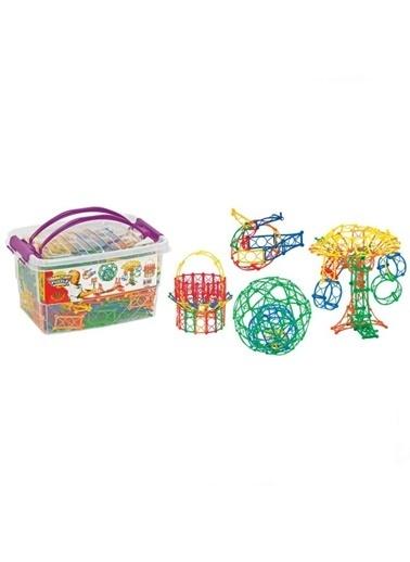 Dede Dede Minyatür Puzzle Eğitici Bloklar Şekiller 480 Parçalegoyapboz Renkli